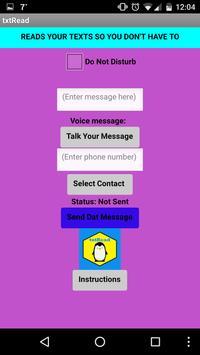 txtRead (Read My SMS) screenshot 2