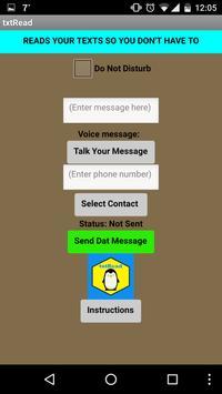 txtRead (Read My SMS) screenshot 4