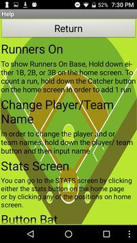 YLHS Baseball Scorebook poster