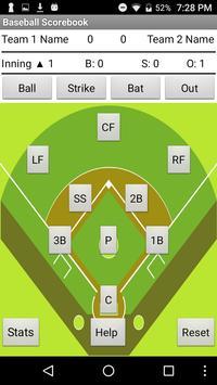 YLHS Baseball Scorebook apk screenshot