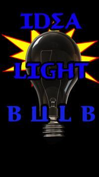 Got An Idea Lightbulb poster