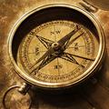 Compass azimuth measurement.