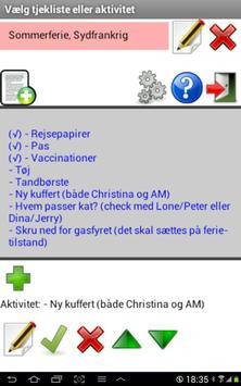 MineTjeklister apk screenshot
