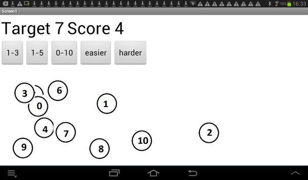 Numbers Test apk screenshot