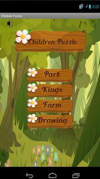 Children Puzzle & Jigsaws poster