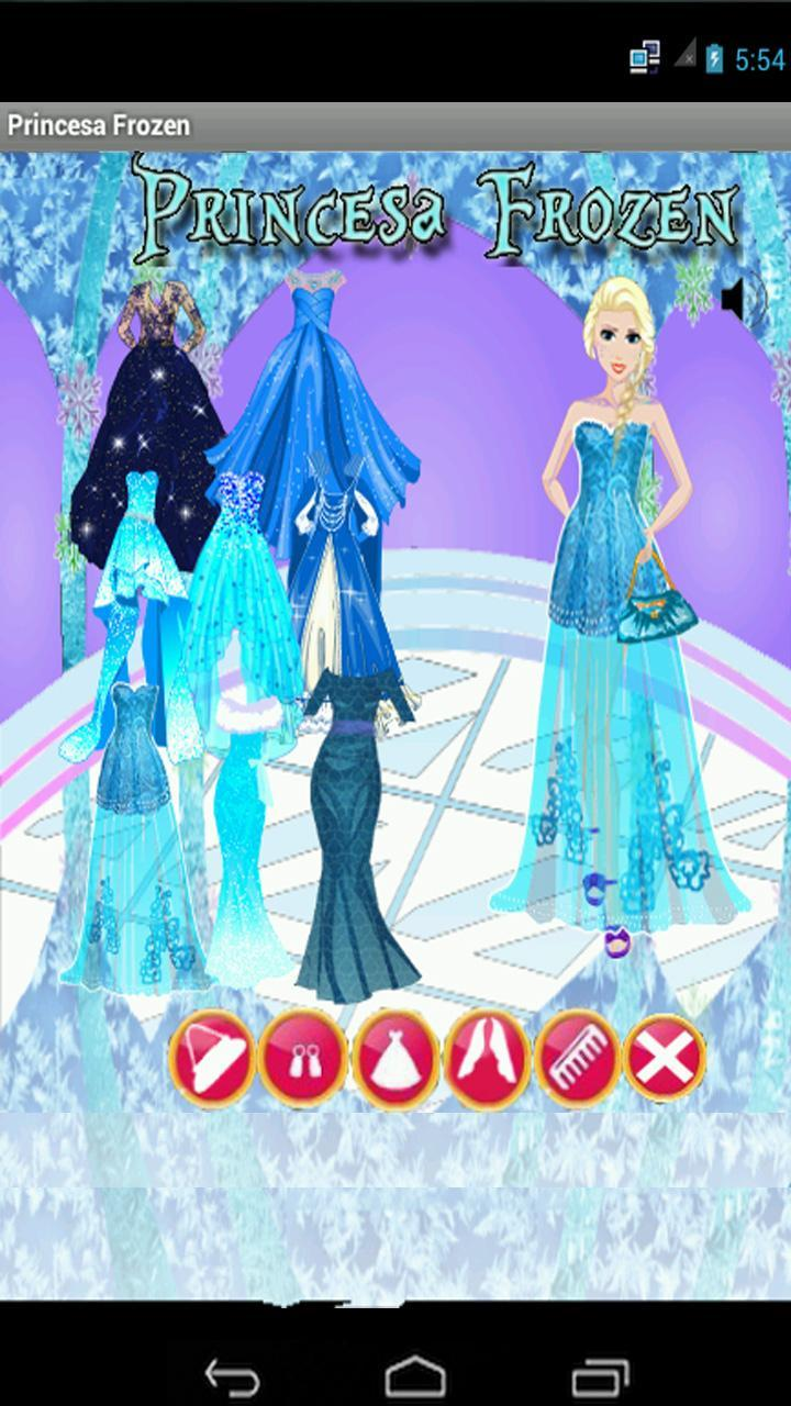 Juego De Vestir A Princesa Ice For Android Apk Download