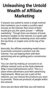 Online Marketing Techniques apk screenshot