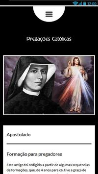 Pregações Católicas apk screenshot