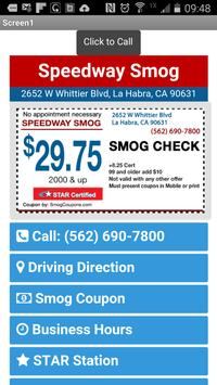 Speedyway Smog Check apk screenshot