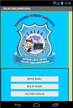 SALAK BANJARNEGARA poster