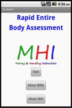 Rapid Entire Body Assessment poster