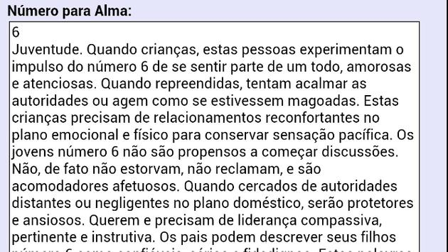 Numerologia Completa Grátis apk screenshot