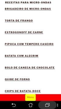 Receitas para Micro-Ondas | FoodBait poster