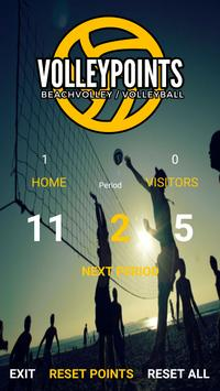VolleyPoints poster