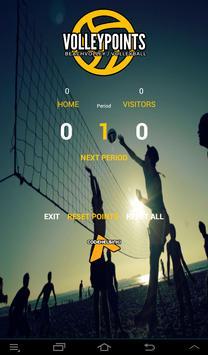 VolleyPoints apk screenshot