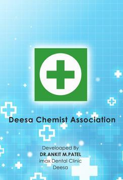 Deesa Chemist poster