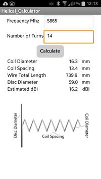 Helical antenna calculator apk download free tools app for android helical antenna calculator poster helical antenna calculator apk screenshot greentooth Gallery