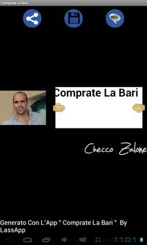 Comprate La Bari apk screenshot