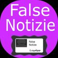 False Notizie - Scherzo Fake