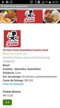 Tô Com Fome Quentinhas poster