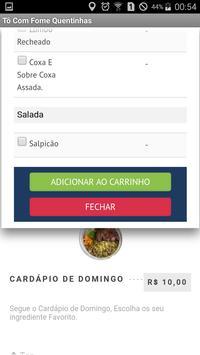 Tô Com Fome Quentinhas apk screenshot