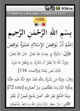 Nullifiers of Islam apk screenshot
