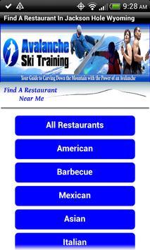 Restaurants Jackson Hole WY screenshot 1