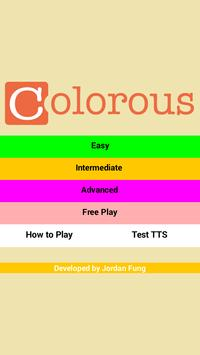 Colorous - Play with Colors! apk screenshot