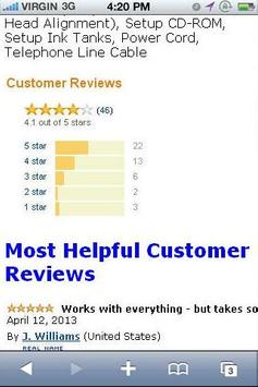 MX922 Color Printer Reviews apk screenshot
