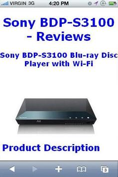 BDPS3100 Bluray Player Reviews poster