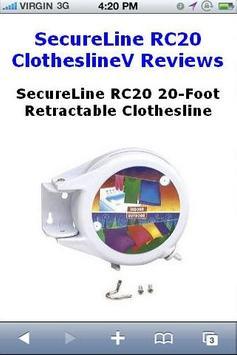 RC20 Clothesline Reviews poster