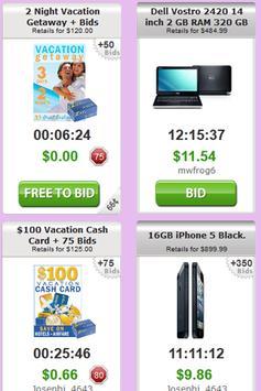 Penny Deals Online Auctions apk screenshot