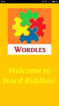 Wordles Brainteaser poster