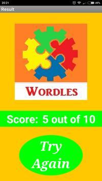 Wordles Brainteaser screenshot 4