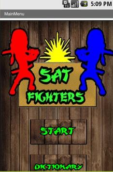 SAT Fighters poster