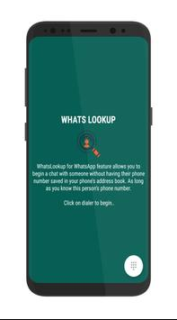 Open with WhatsApp - WhatsLookup poster