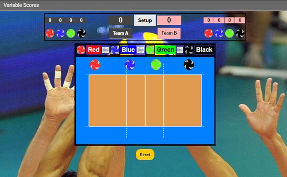 Volleyball Score (S) screenshot 2