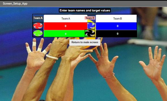 Volleyball Score (S) screenshot 3