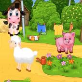 Песенка про животных для самых маленьки icon