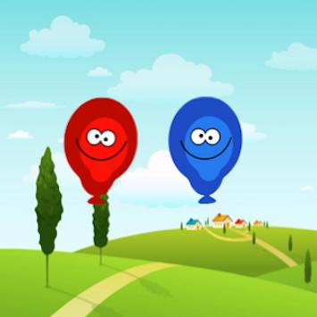 Kids Game: Red or Blue poster