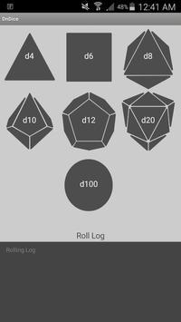 DnDice (User friendly roller) screenshot 1