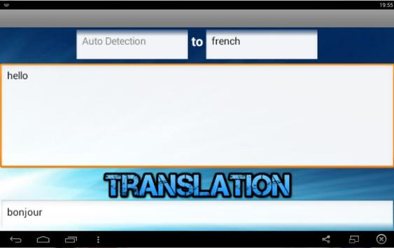 Accu Translator apk screenshot