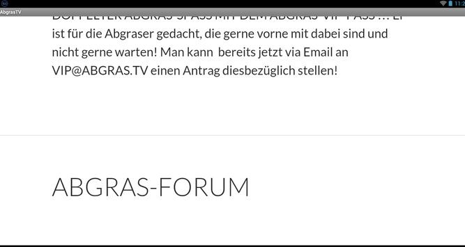 AbgrasTV apk screenshot