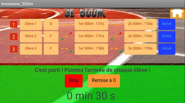 3x500m Multiple screenshot 2