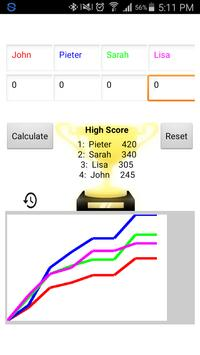 Score Keeper apk screenshot