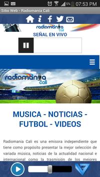 Radiomanía Cali apk screenshot