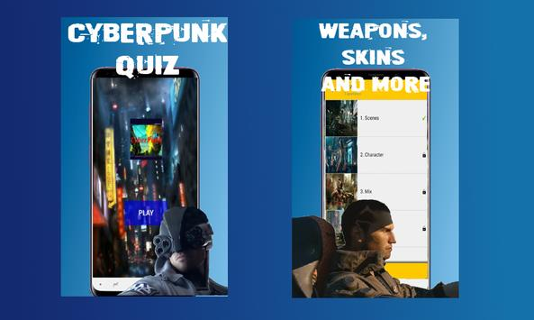 Cyberpunk Demo Quiz screenshot 3