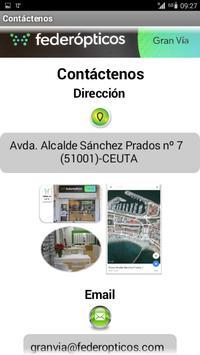 Federópticos Gran Vía (Ceuta) screenshot 4