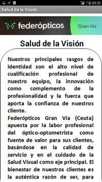 Federópticos Gran Vía (Ceuta) screenshot 1