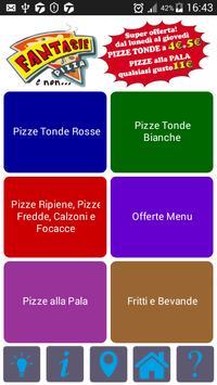 Fantasie di Pizza poster